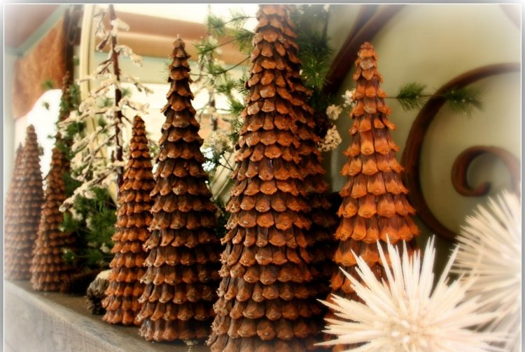weihnachtsdekoration holz basteln - boisholz - Weihnachtsdeko 2015 Holz