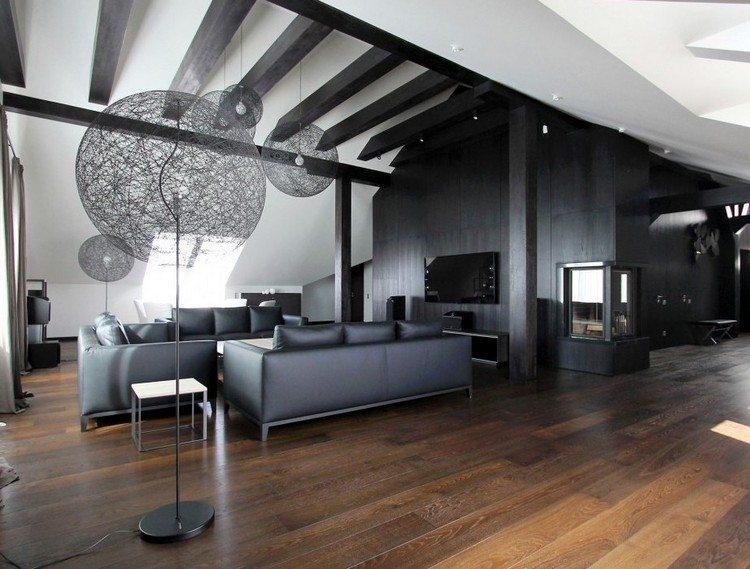 Fliesen Schlafzimmer Modern Schwarz Weis