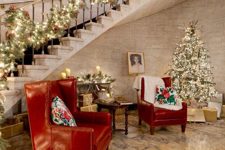 Amerikanische Weihnachtsdeko  52 Ideen in Rot und Grn