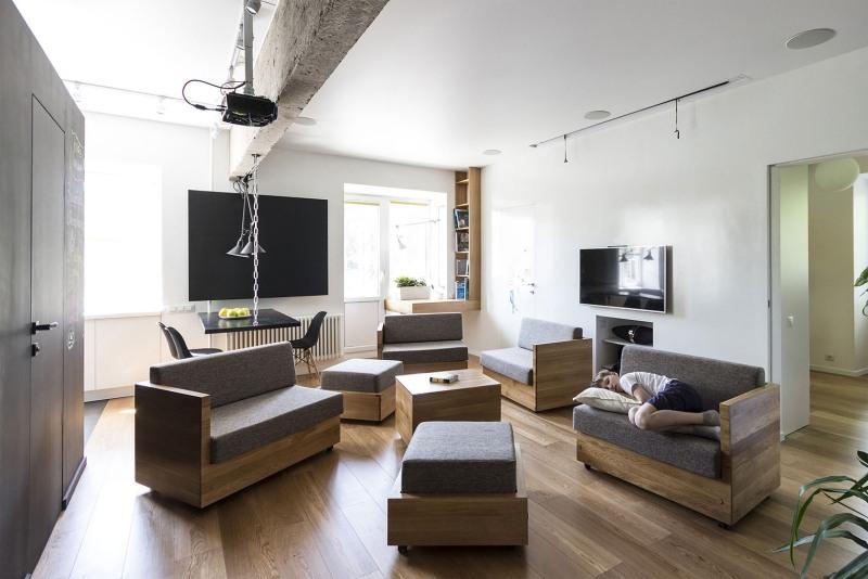 Indoor Spielplatz zu Hause  Rume mit individuellem Design