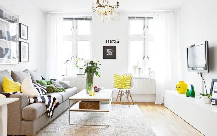 Wohnzimmer Farblich Gestalten Gelb sdatec.com