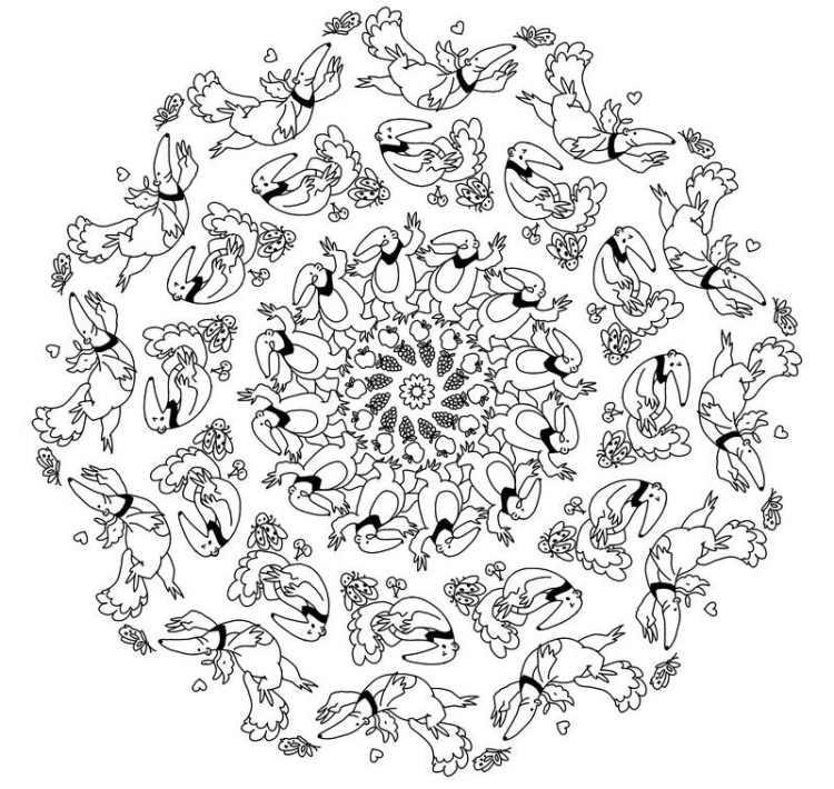 Mandala Herbst Zum Ausdrucken - Malvorlagen Gratis