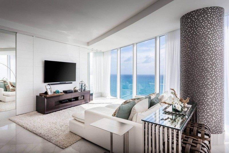 Maritime Einrichtung Eine Luxus Pur Wohnung In Hollywood