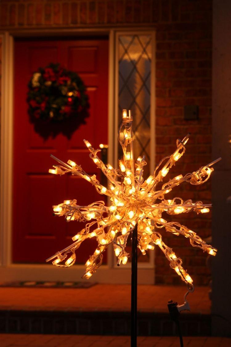 Ideen Fr Weihnachtsdeko Auen Ein Schn Beleuchteter