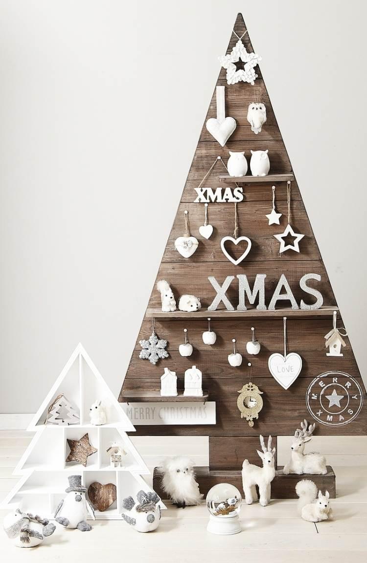 weihnachtsdeko holz basteln kranz kugel stern girlande treibholz ... - Holzbasteln