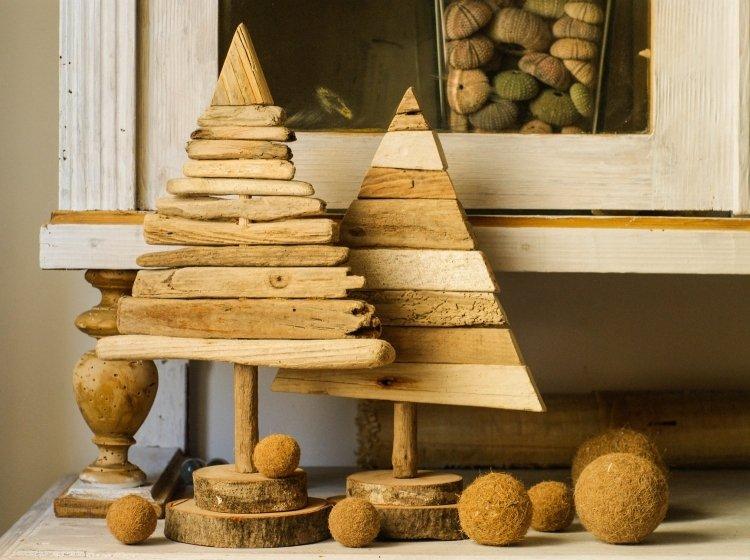 weihnachtsdeko aus holz - terrasseenbois - Weihnachtsdeko 2015 Holz