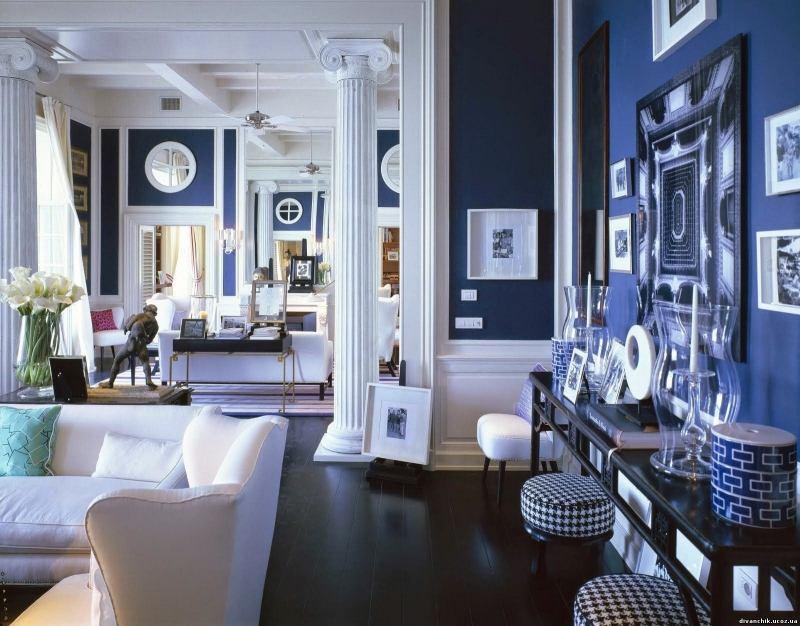 Wohnen in Blau und Wei  50 moderne Wohnideen