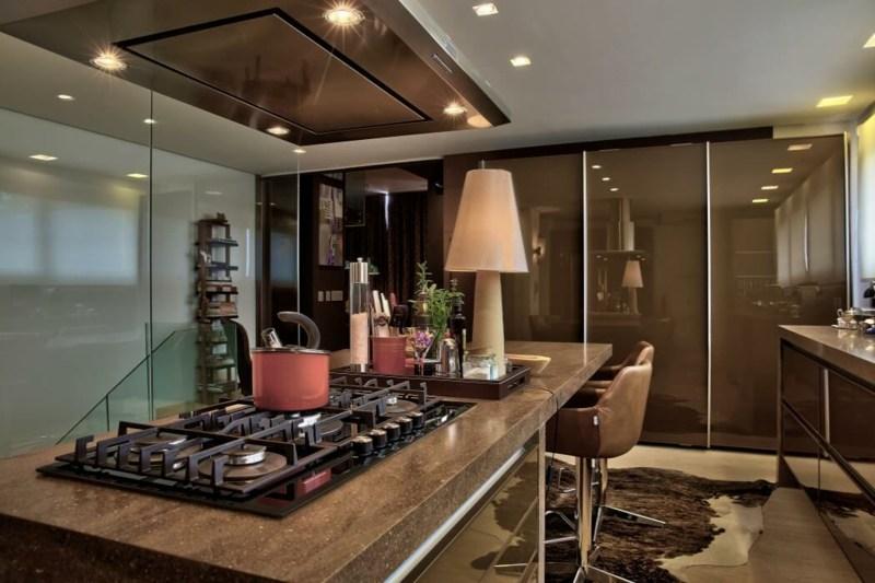 Wohnraumgestaltung in gedeckten Farben wirkt modern