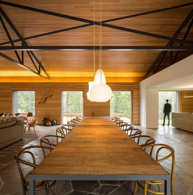 pizzaofen moderner kamin | designmore, Gartengerate ideen