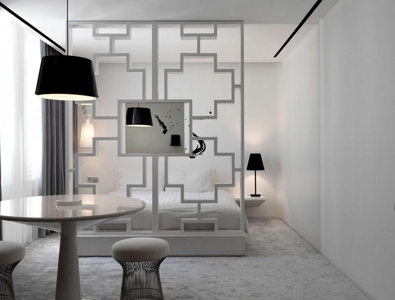 Schlafzimmer Ideen in Wei  75 moderne Einrichtungen