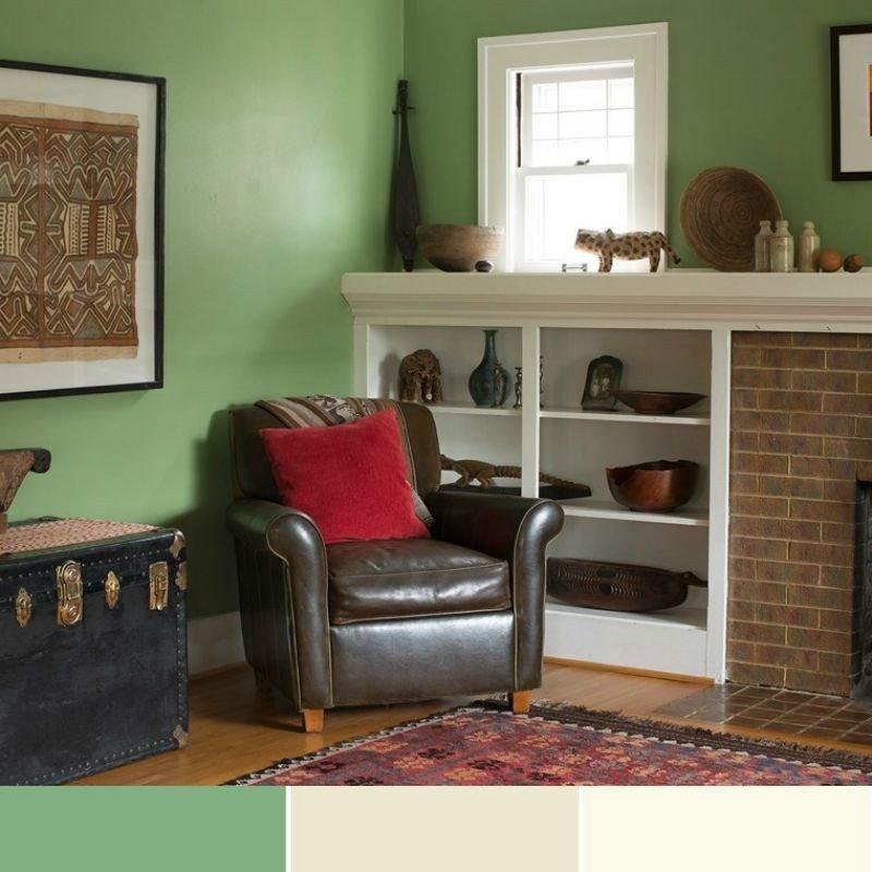 Wand streichen  37 Ideen fr farbige Wandgestaltung