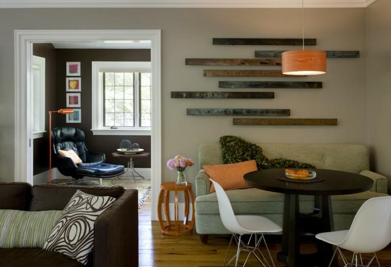 wohnzimmer streichen inspirierende ideen archzine net wohnideen ... - Wohnzimmer Braun Orange