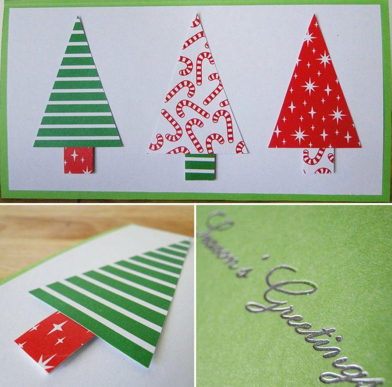 Weihnachtskarten Originelle Ideen.Originelle Weihnachtskarten Basteln Mit Kindern