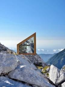 Alpen Tte Mit Holz Interieur Als Unterkunft Ausblick
