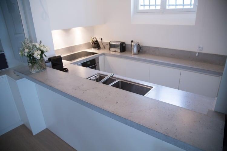 Arbeitsplatte Aus Beton 30 Ideen Für Oberfläche In Der Küche