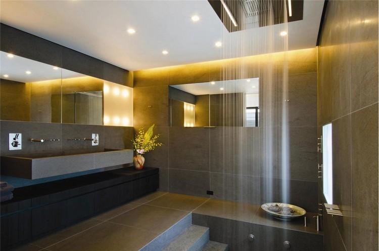 badezimmer deckenleuchte led modern drehbar indirekte