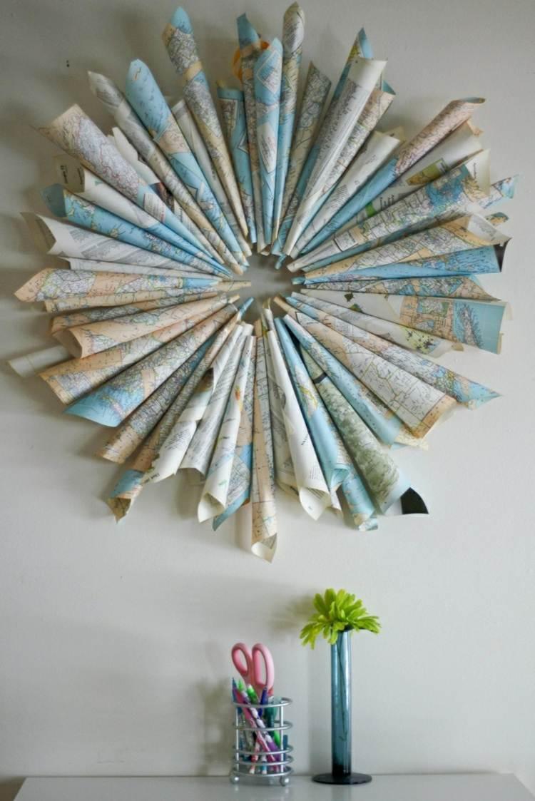 Deko Ideen frs Wohnzimmer  33 DIY Inspirationen