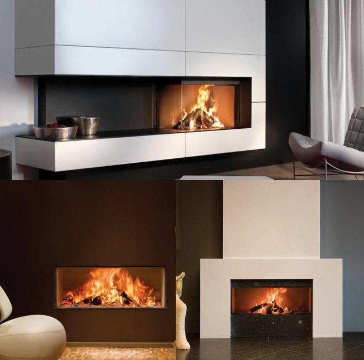 Design Kaminofen gemauert fr modernes Wohnen 48 Bilder