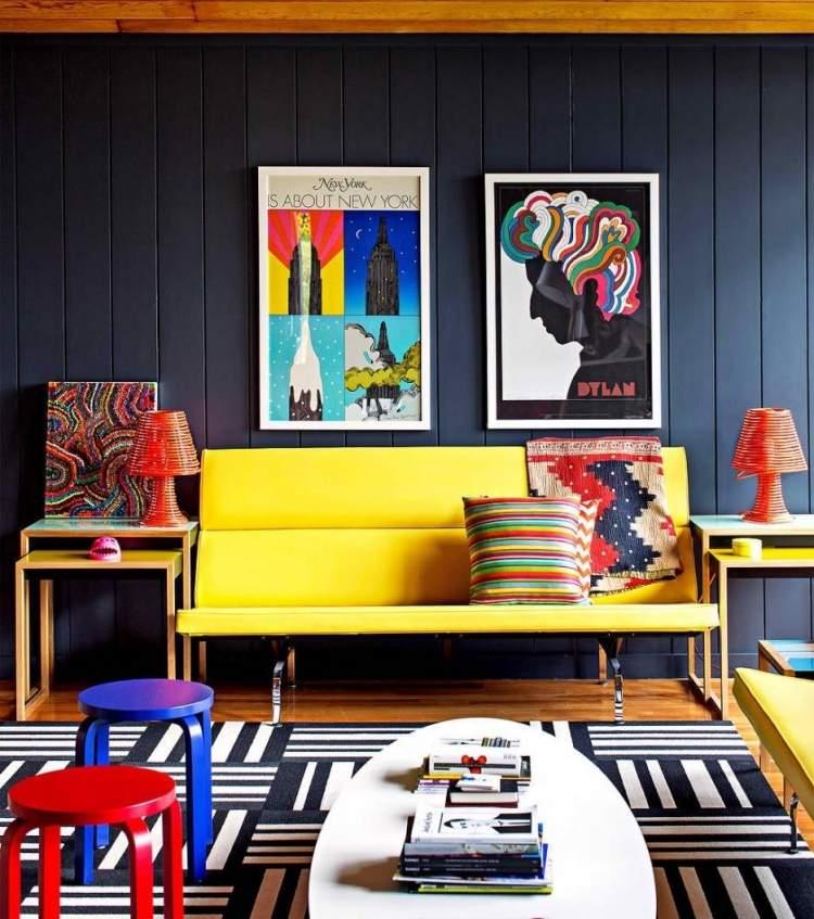 50 Einrichtungsideen fr Wohnzimmer mit gemtlicher Deko