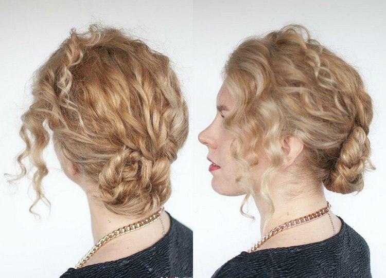 40 Frisuren Für Naturlocken Zum Selbermachen Mit Anleitung