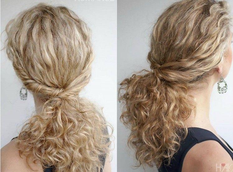 40 Frisuren Für Naturlocken Zum Selbermachen Mit Anleitung Frisur