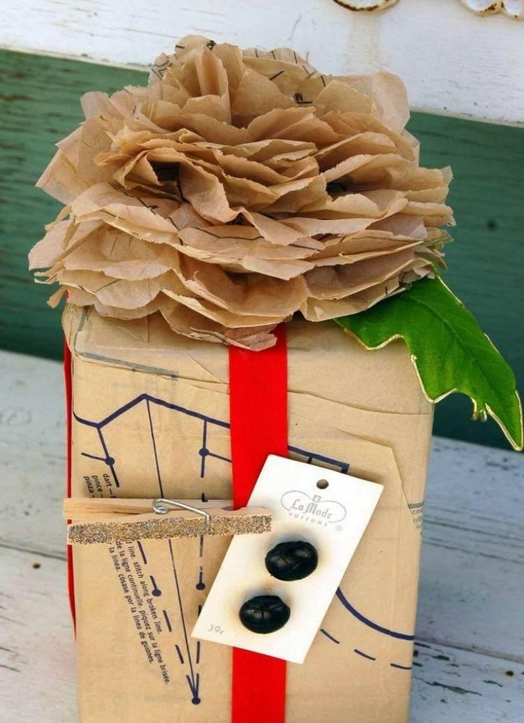 Geschenke verpacken mal anders  40 Ideen und Anleitungen