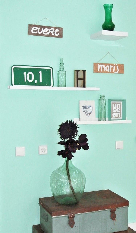 Welches Grn als Wandfarbe  35 Ideen mit Grntnen