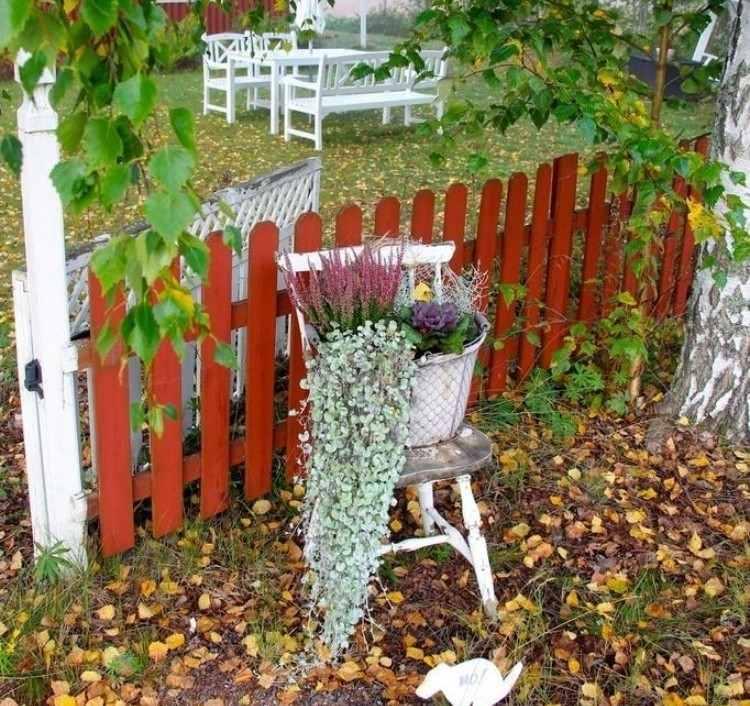 Herbstliche Deko Für Draußen Garten Und Terrasse Verzieren