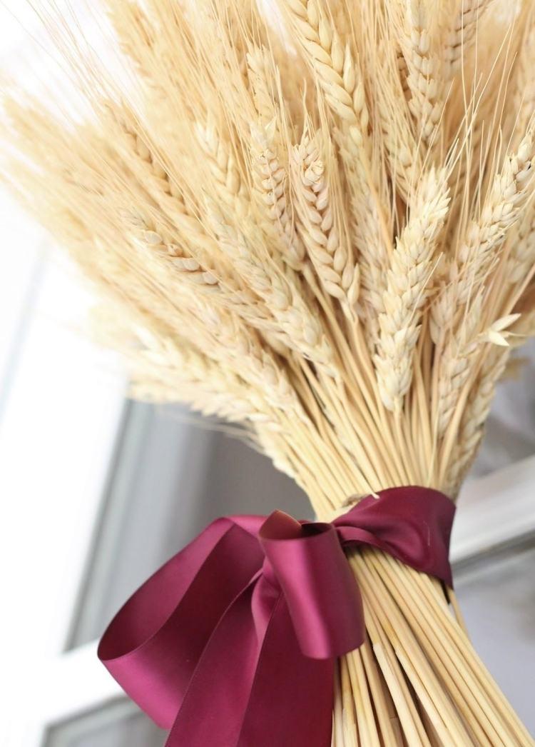 40 Ideen fr herbstliche Deko zum Erntedankfest mit Weizen
