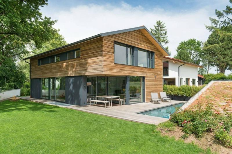 Awesome Interieur Aus Holz Und Beton Haus Bilder Gallery - Amazing ...