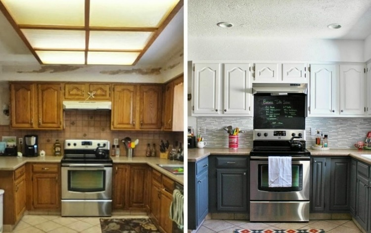 Alte Küche Streichen Welche Farbe | Rauhfaser Streichen ...