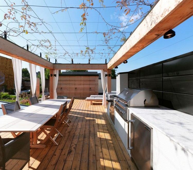 Moderne Terrassenberdachung  60 verschiedene Ideen