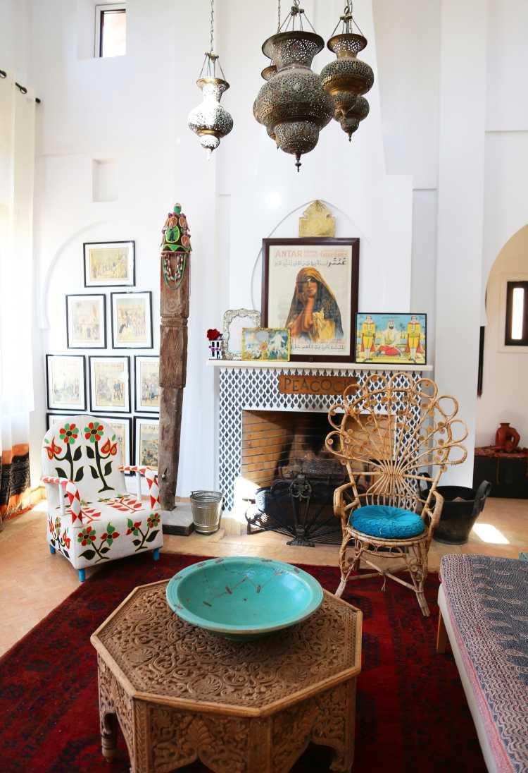 schlafzimmer deko orientalisch  garten 'sommerbalkon 2014