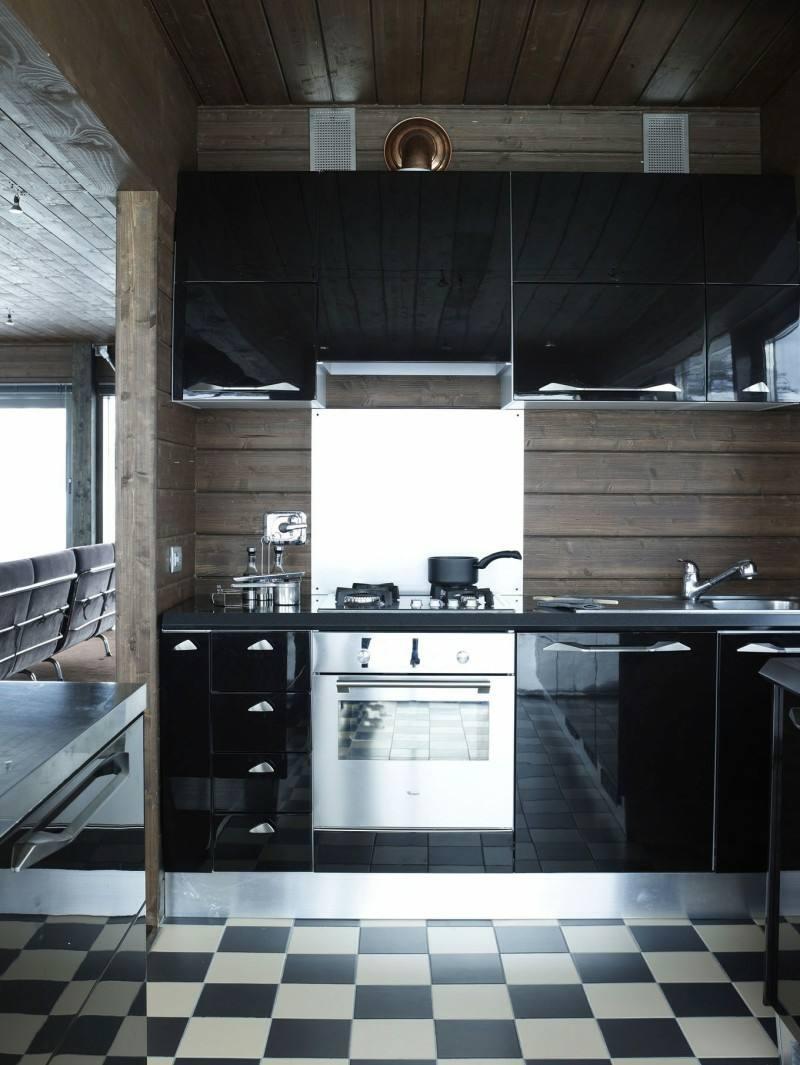 Eine schwarze Kche whlen  Tipps und 48 Interieur Ideen