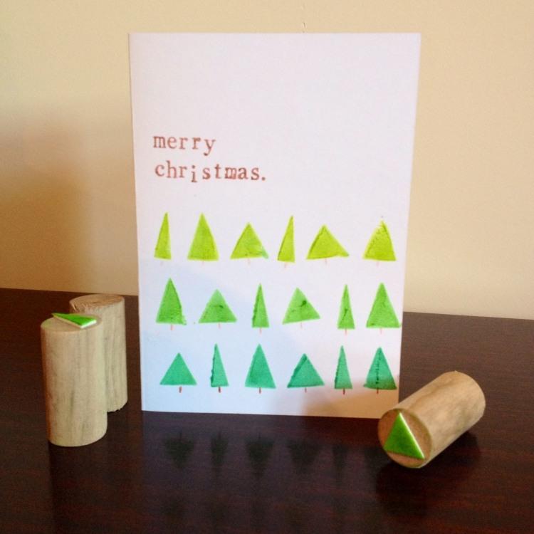 Holz Weihnachtskarten.Weihnachtskarten Basteln Holz