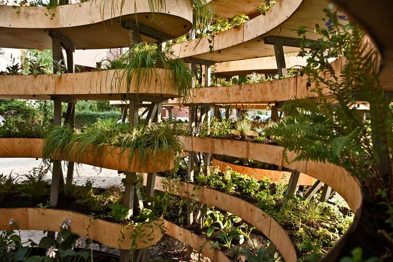 hochbeet bepflanzen stauden hochbeet im garten ein neues projekt,