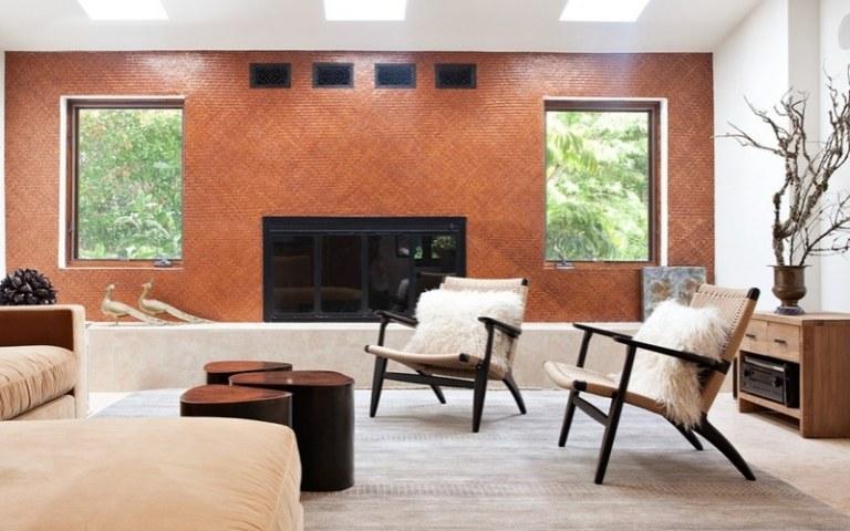 Terracotta Fliesen Wohnzimmer | Das Haus Mediterran ...