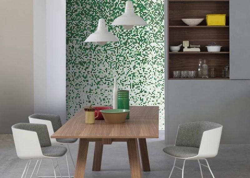 Mosaik Fliesen in Grn  50 Gestaltungsideen