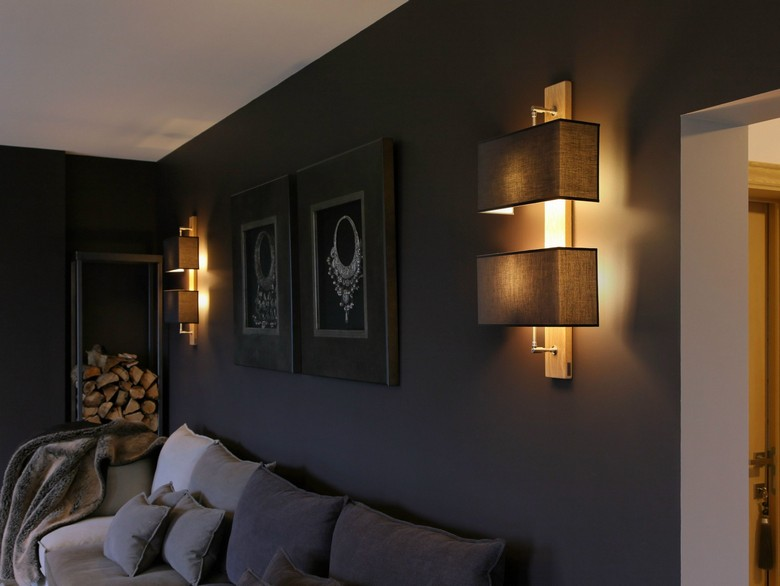 Wandleuchte aus Holz  55 Designer Lampen