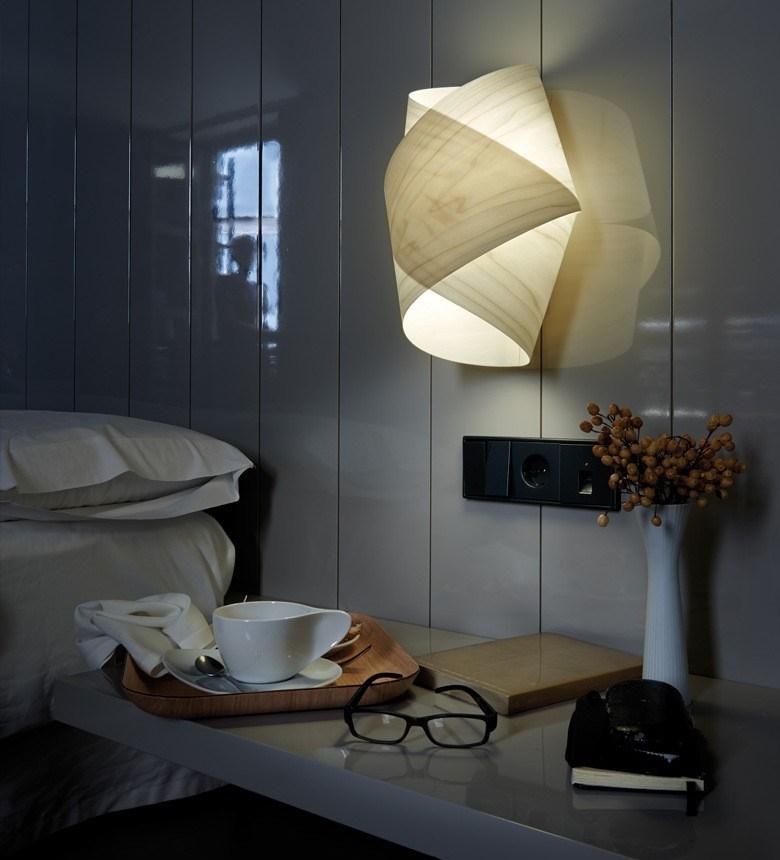 wandlampen für schlafzimmer  details zu naturfarbene
