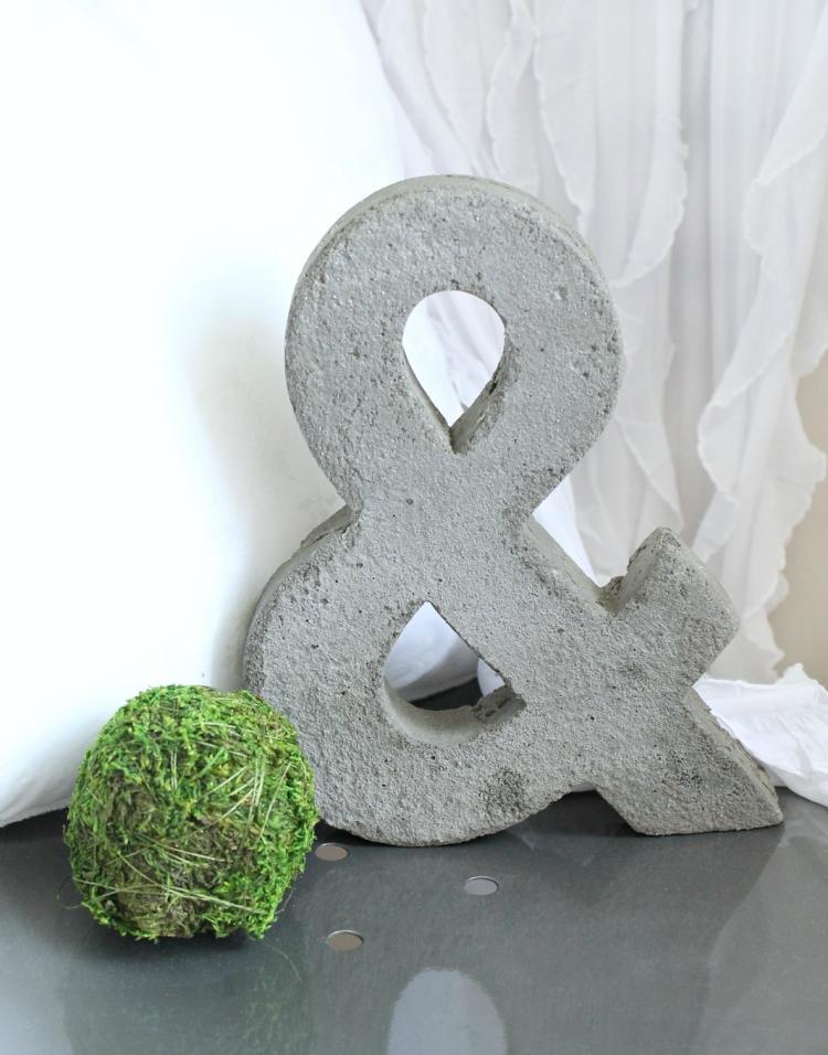 bastelideen aus beton herbst coole bastelideen aus beton tolle diy, Garten und Bauten