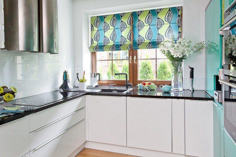 kuechengardinen modern ideen f r die wohnraumgestaltung. Black Bedroom Furniture Sets. Home Design Ideas