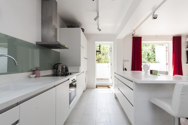 50 Fenstervorhnge Ideen fr Kche  Klassisch und modern
