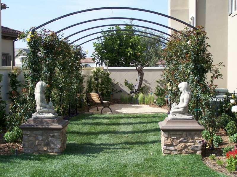 terrassenbepflanzung ideen beete gestaltung – menerima, Terrassen ideen