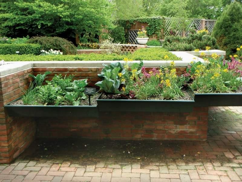 Terrassenbepflanzung Ideen Beete Gestaltung | Möbelideen