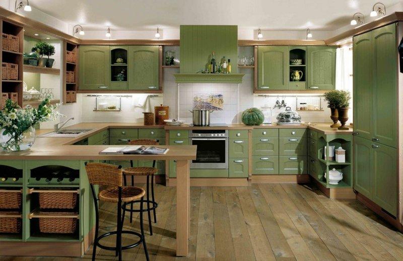 landhausstil kuche 34 ideen fur ein beruhigendes ambiente kuche 1 34
