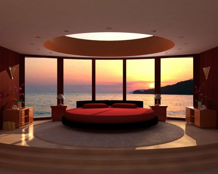 Nachhaltige und umweltfreundliche schlafzimmer mobel und bettwasche  Runde Betten Schlafzimmer Moebel Ideen Awesome Runde Betten ...