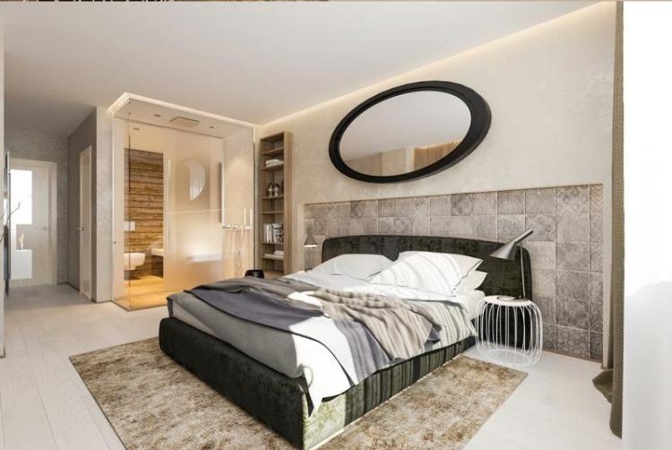 wandgestaltung schlafzimmer hell  60 schlafzimmer ideen