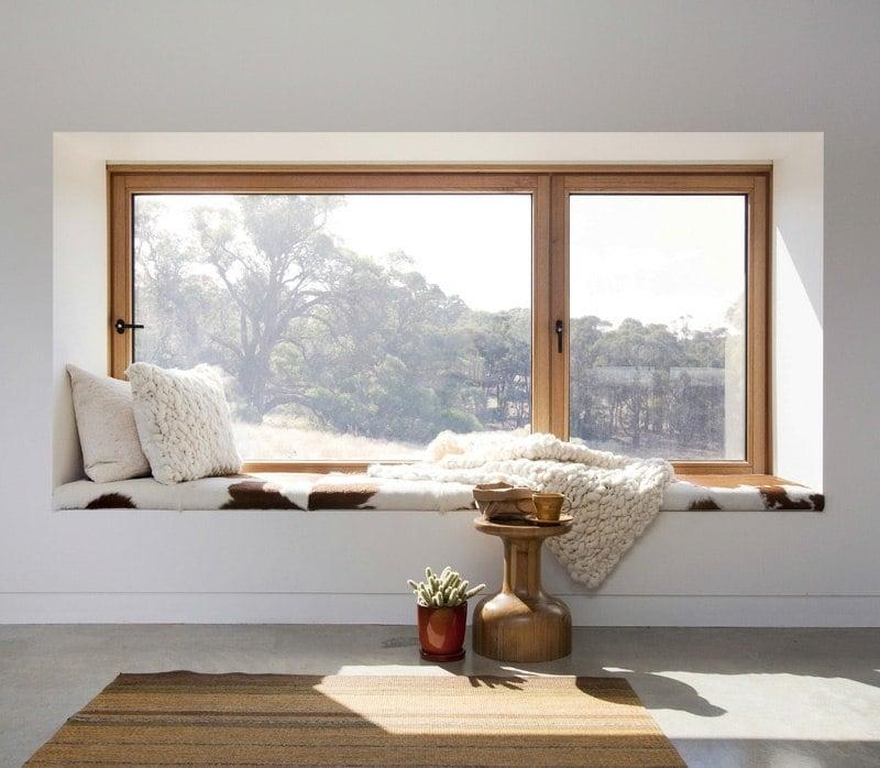 Eine Sitzecke am Fenster gestalten  10 gemtliche Ideen