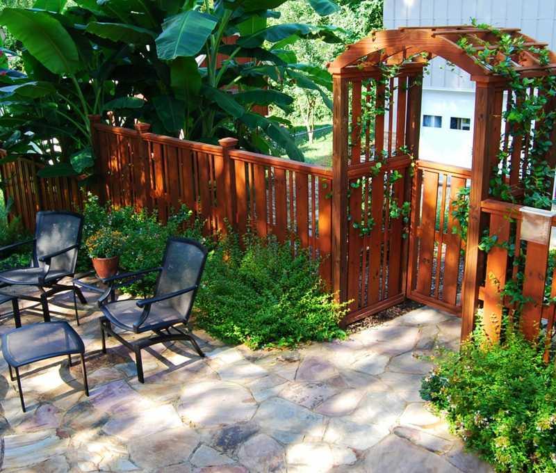 terrasse bepflanzen ideen - boisholz, Terrassen ideen